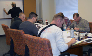 Training class at WGTC campus